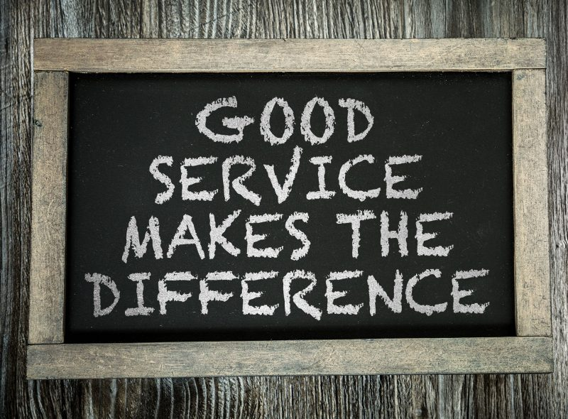 Quality service with value